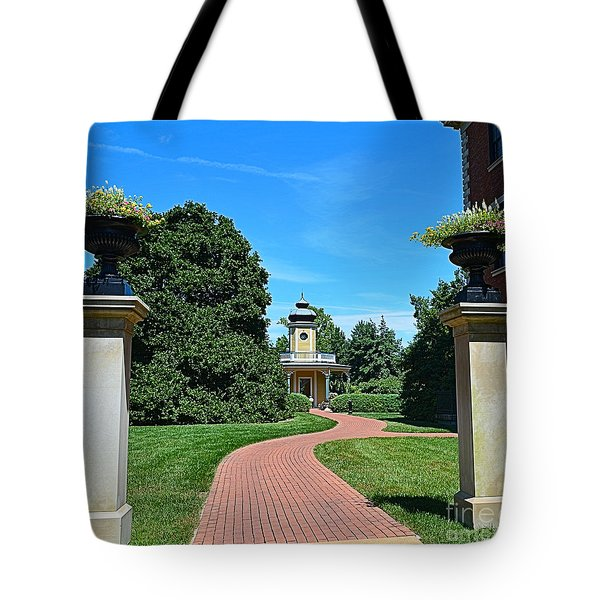 Pathway To The Observatory Tote Bag