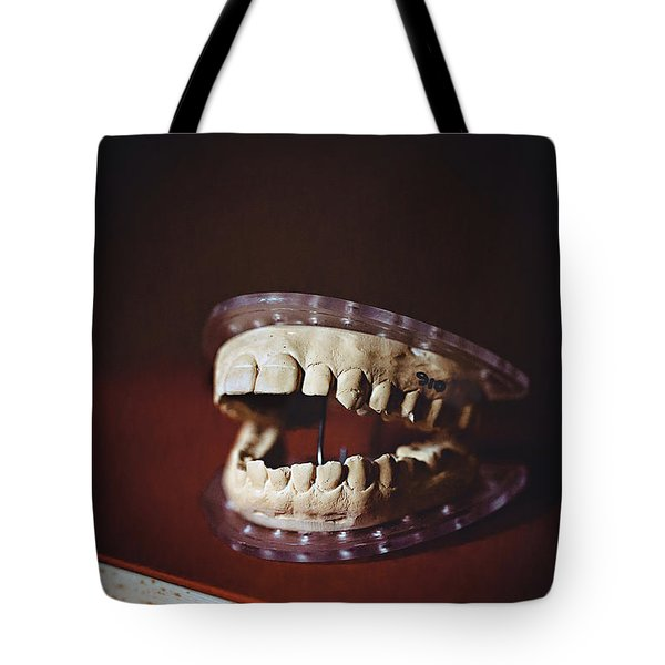 Tote Bag featuring the photograph Patient 910 by Trish Mistric