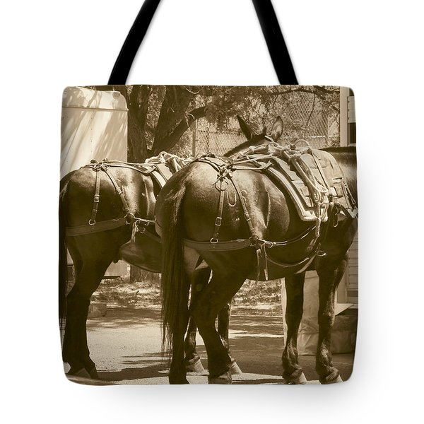 Patient Pack Mules Tote Bag
