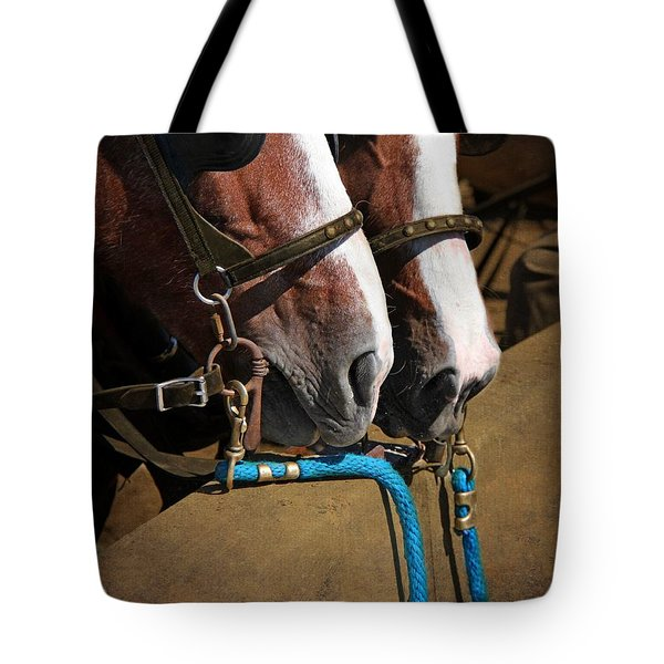 Patiently Waiting Tote Bag by Davandra Cribbie