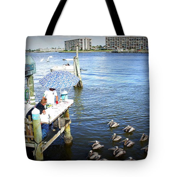 Tote Bag featuring the photograph Patiently Waiting by Laurie Perry