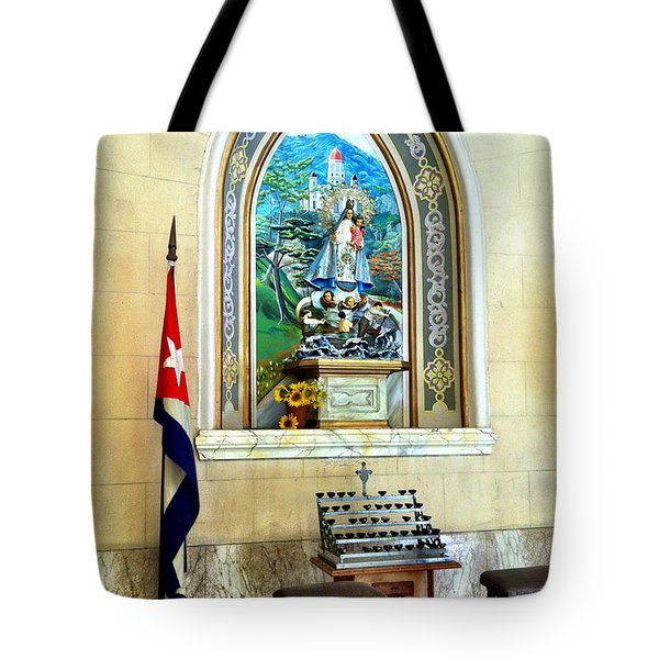 Patria Tote Bag by Carlos Avila