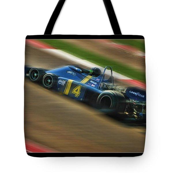 Patrick Depailler Tote Bag