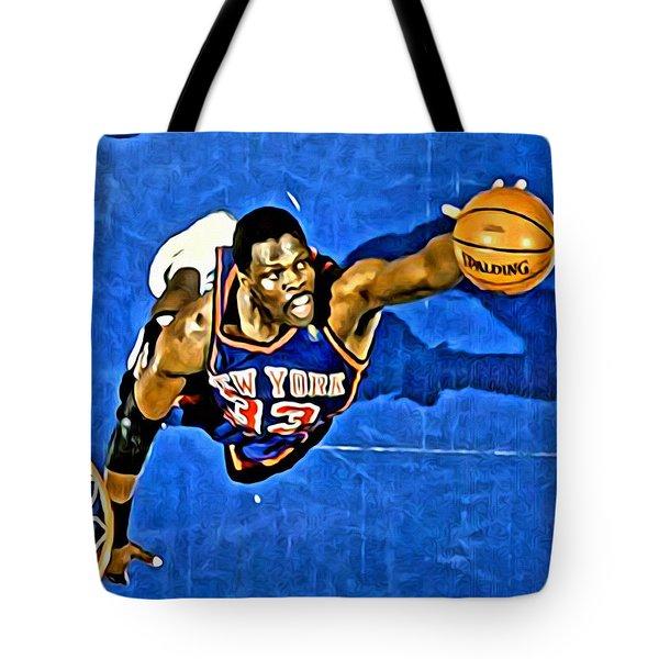 Patrick Ewing Tote Bag by Florian Rodarte