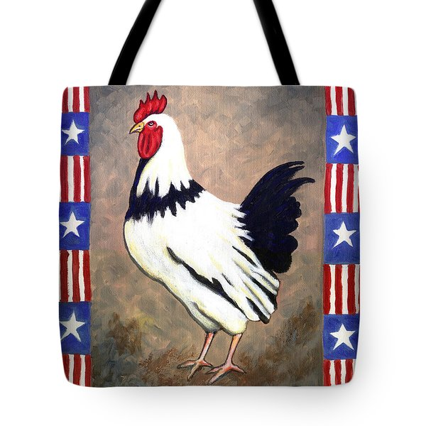 Patrick Patriotic Tote Bag by Linda Mears