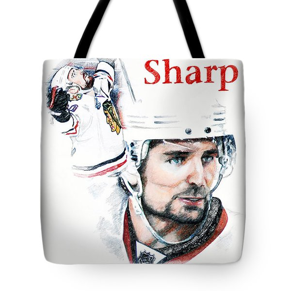 Patrick Sharp - The Cup Run Tote Bag by Jerry Tibstra
