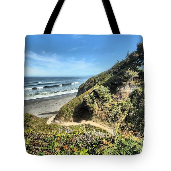 Patrick's Point Tote Bag by Adam Jewell