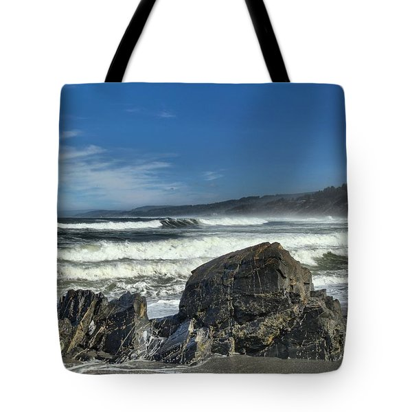 Patrick's Rocks Tote Bag by Adam Jewell