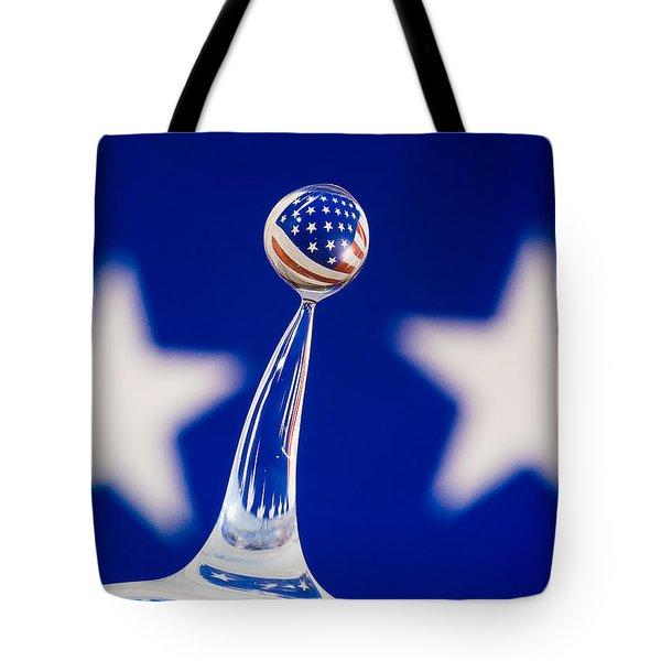 Patriotic Pop Tote Bag