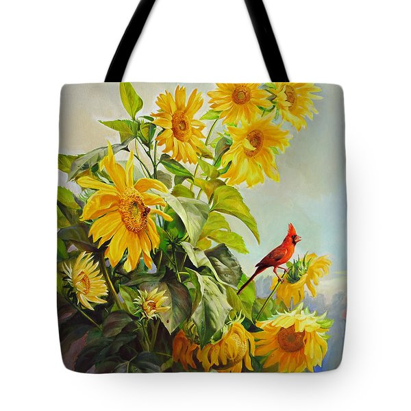 Patriotic Song - The Incredible Morning Tote Bag