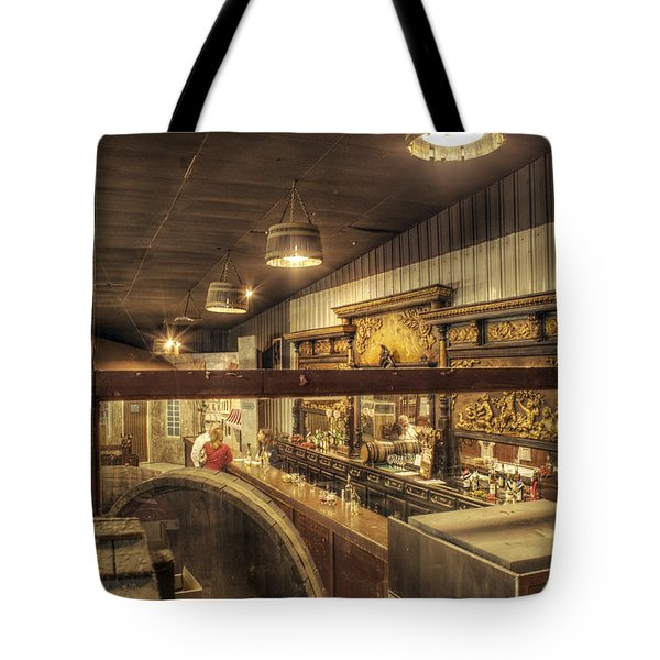 Patrons Of The Tasting Bar Tote Bag by Jason Politte