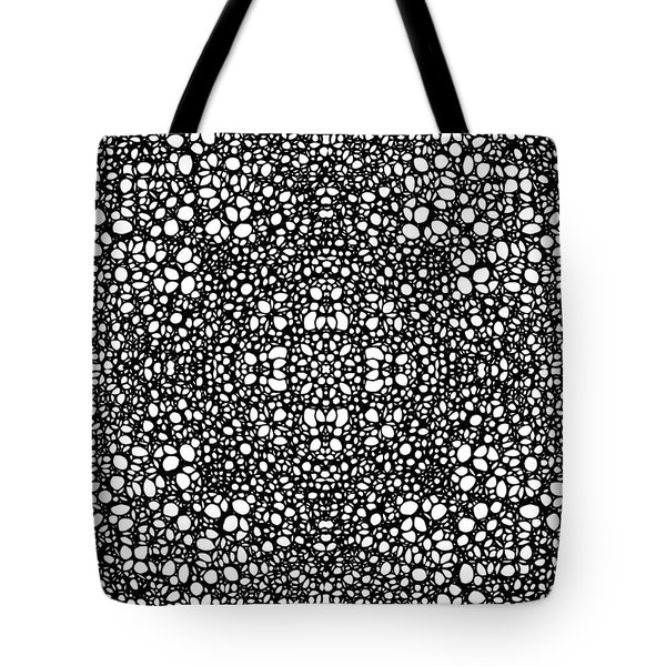 Pattern 42 - Intricate Exquisite Pattern Art Prints Tote Bag by Sharon Cummings