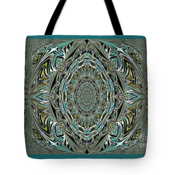 Pattern. Art For Home And Office Tote Bag by Oksana Semenchenko