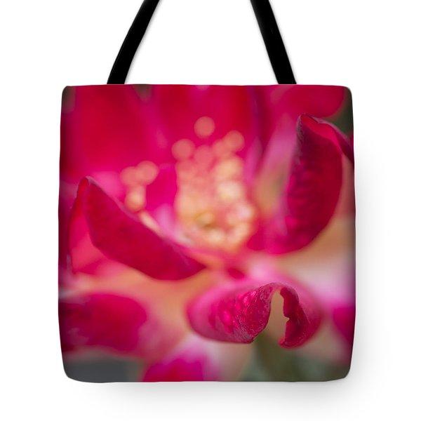 Patterned Petals Tote Bag by Priya Ghose