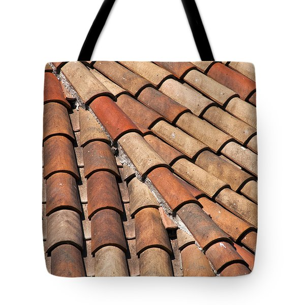 Patterned Tiles Tote Bag by Bob Phillips