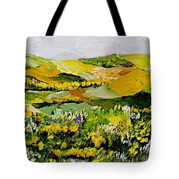 Patterns Tote Bag by Allan P Friedlander
