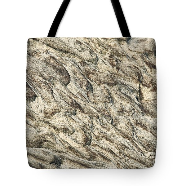Patterns In Sand 2 Tote Bag