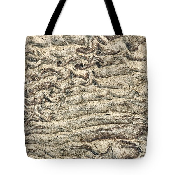 Patterns In Sand 3 Tote Bag