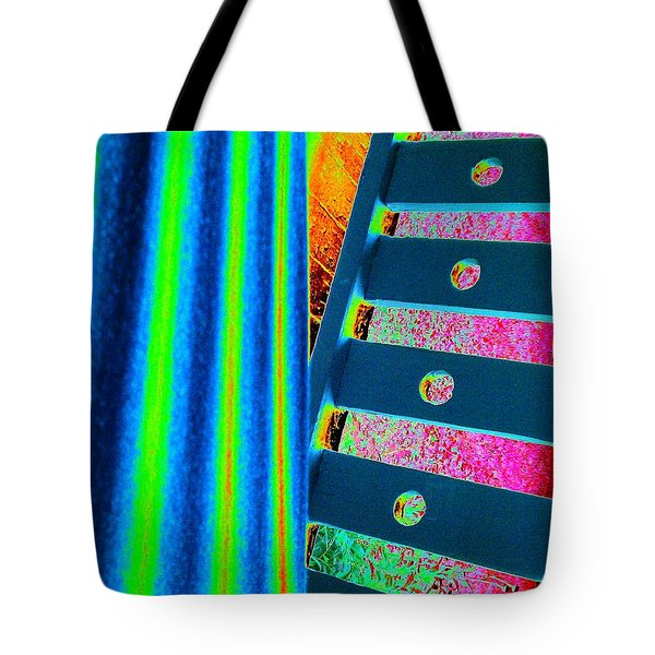 Patterns Tote Bag by Jacqueline McReynolds