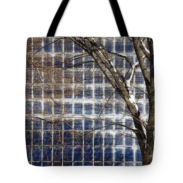 Patterns Of Winter Tote Bag by Joanna Madloch