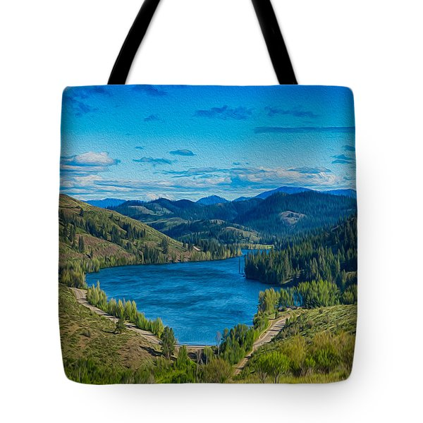 Patterson Lake In The Summer Tote Bag