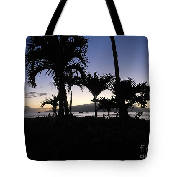 Tote Bag featuring the photograph Pau Hana Time by Fred Wilson