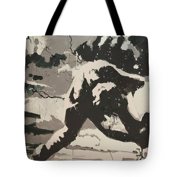 Paul Simonon Of The Clash Tote Bag by Dustin Spagnola