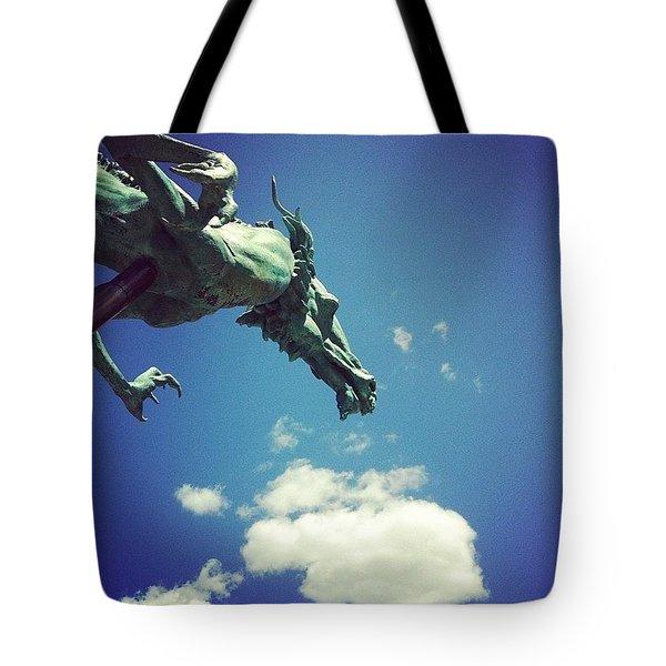 Paul's Dragon Tote Bag