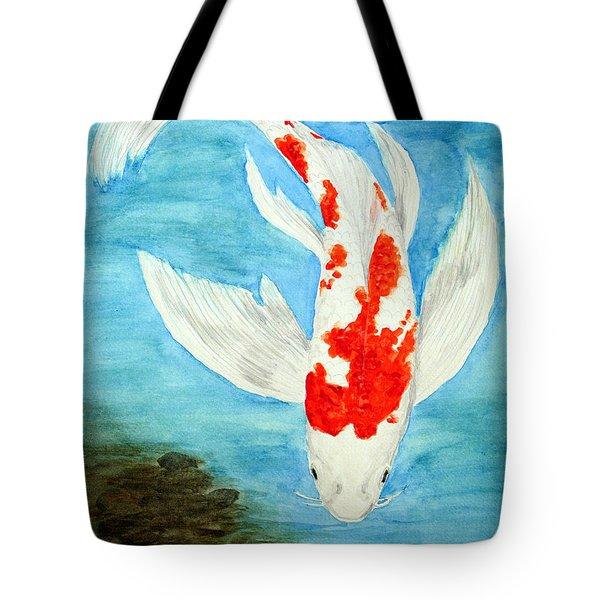 Paul's Koi Tote Bag