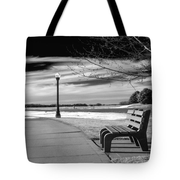 Pause Tote Bag by Don Spenner