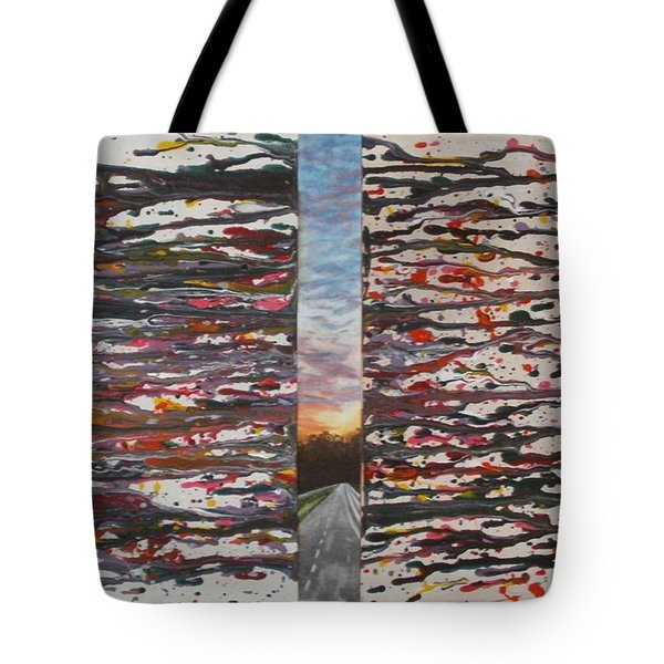 Pause Tote Bag by Thomasina Durkay