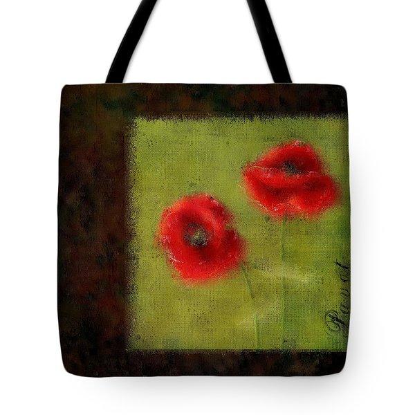 Pavot - 027023222-bl02 Tote Bag