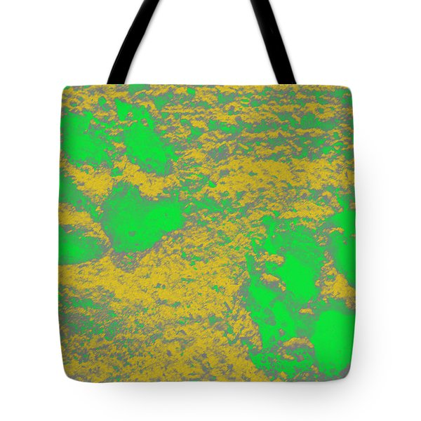 Paw Prints In Yellow And Lime Tote Bag