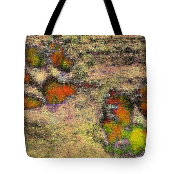 Paw Prints Like Butterflies Muted Tote Bag