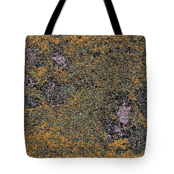Paw Prints With A Tinge Of Lilac Tote Bag