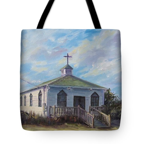 Pawleys Chapel Tote Bag
