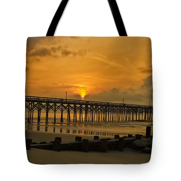 Pawleys Island Sunrise Tote Bag