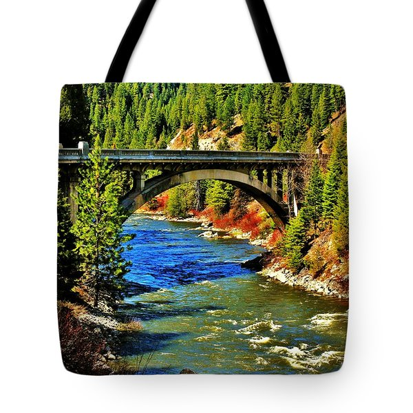 Payette River Scenic Byway Tote Bag