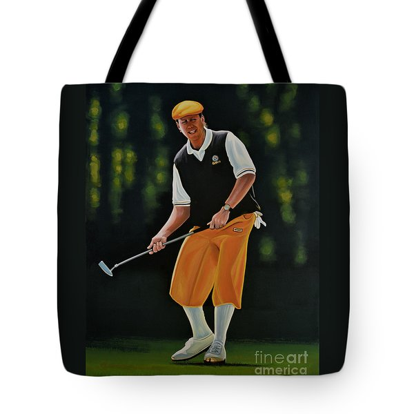 Payne Stewart Tote Bag by Paul Meijering