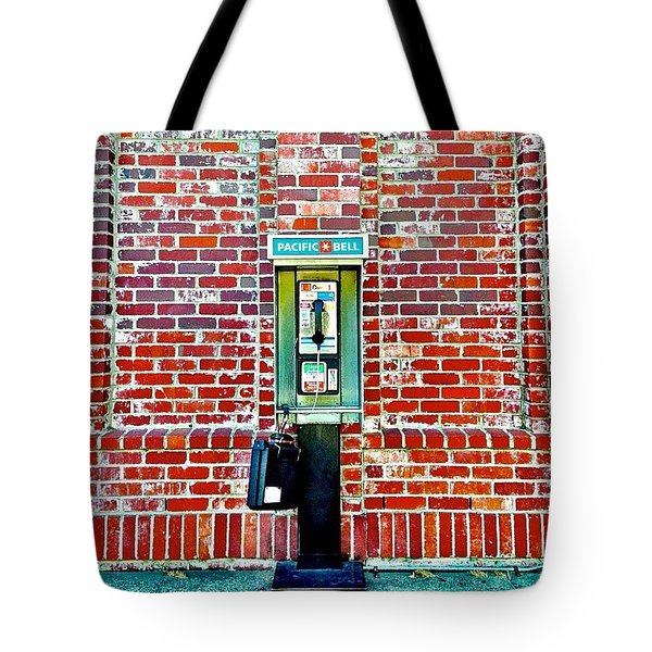 Payphoneography Tote Bag