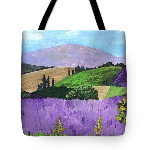 Pays De Sault Tote Bag by Anastasiya Malakhova