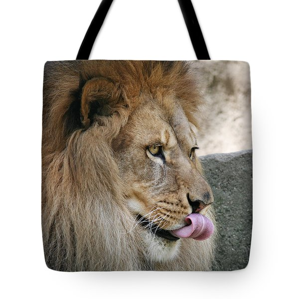 Tote Bag featuring the photograph Pbbbt by Judy Whitton