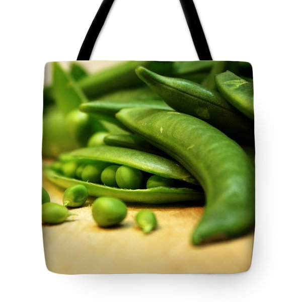 Pea Pods Tote Bag by Joseph Skompski