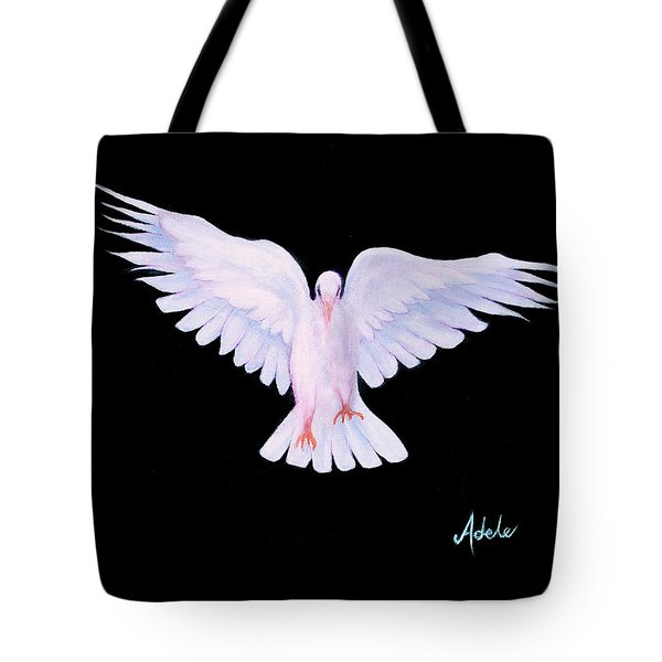 Peace Tote Bag by Adele Moscaritolo