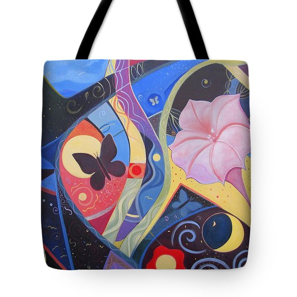 Peace And Flow Tote Bag