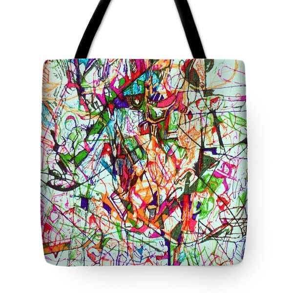 Peace And Wonderment 1 Tote Bag by David Baruch Wolk