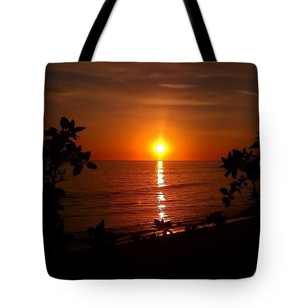 Peace At The Beach Tote Bag
