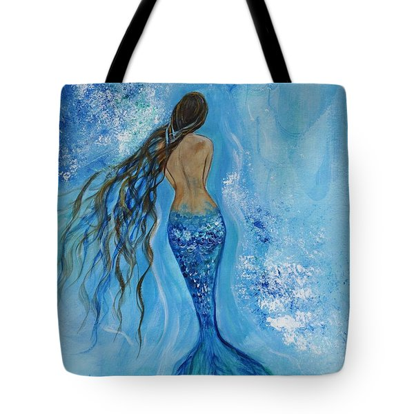 Peace Beneath Tote Bag by Leslie Allen