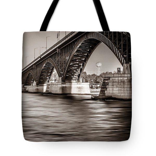 Peace Bridge Tote Bag