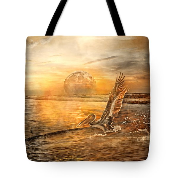 Peace Tote Bag by Betsy Knapp